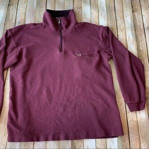 Weatherproof men's quarter zip pullover